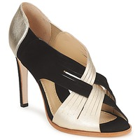 Shoes Women Court shoes Moschino MINEK Black / Gold