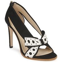 Shoes Women Court shoes Moschino DELOS ESCA Black / Ivory