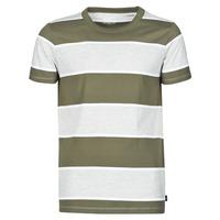 material Men short-sleeved t-shirts Esprit T-SHIRTS Kaki