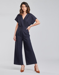 material Women Jumpsuits / Dungarees Esprit OVERALLS KNITTED Blue