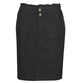 material Women Skirts Esprit JUPES EN JEANS Black