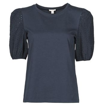 material Women short-sleeved t-shirts Esprit T-SHIRTS Black