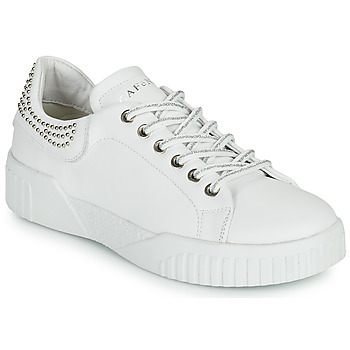 Shoes Women Low top trainers Café Noir THINA White