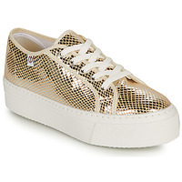 Shoes Women Low top trainers Yurban SUPERTELA Gold