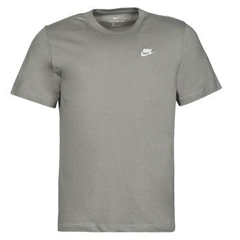 material Men short-sleeved t-shirts Nike NSCLUB TEE Kaki