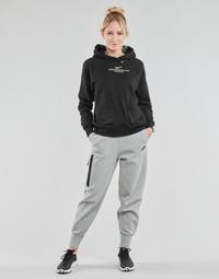 material Women Tracksuit bottoms Nike NSTCH FLC ESSNTL HR PNT Grey / Black