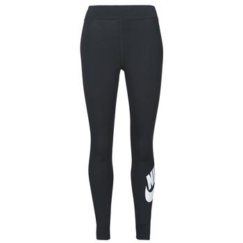material Women leggings Nike NSESSNTL GX HR LGGNG FTRA Black / White