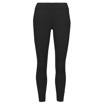 material Women leggings Nike NSESSNTL 7/8 MR LGGNG Black / White