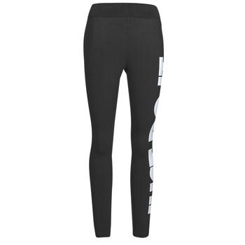 material Women leggings Nike NSESSNTL GX HR LGGNG JDI Black / White