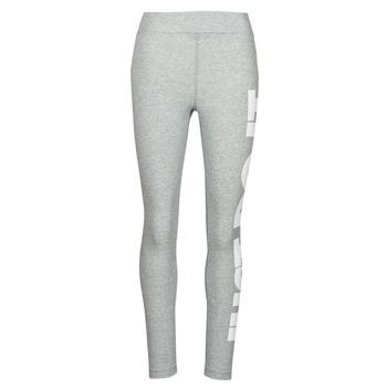 material Women leggings Nike NSESSNTL GX HR LGGNG JDI Grey / White