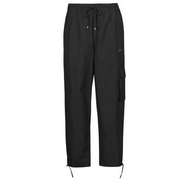 material Women Tracksuit bottoms Nike NSICN CLASH PANT CANVAS HR Black / Grey