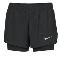 material Women Shorts / Bermudas Nike 10K 2IN1 SHORT Black