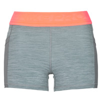 material Women Shorts / Bermudas Nike NIKE PRO 3IN SHORT FEMME NVLTY PP2 Grey / Orange / White