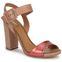 Shoes Women Sandals Eva Turner  Bronze / Red