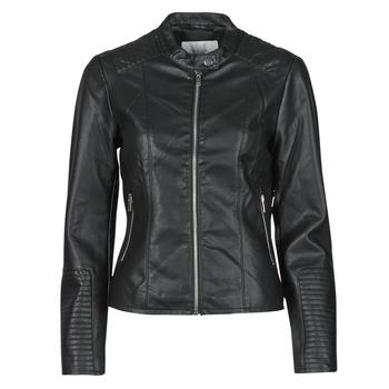 material Women Leather jackets / Imitation le Vila VIBLUE Black