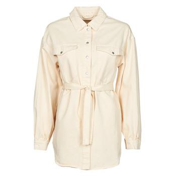 material Women Jackets / Blazers Vila VIDERESSA Beige