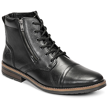 Shoes Men Mid boots Rieker  Black