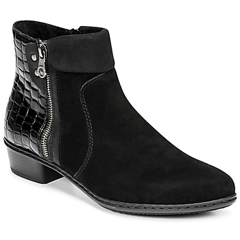 Shoes Women Ankle boots Rieker  Black