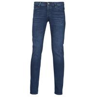 material Men slim jeans Jack & Jones JJIGLENN Blue / Dark