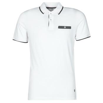 material Men short-sleeved polo shirts Jack & Jones JPRBLABOLTON White