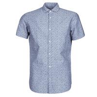 material Men short-sleeved shirts Jack & Jones JPRBLASUMMER Blue
