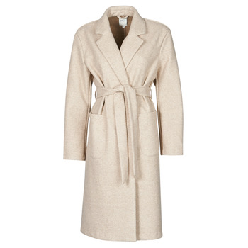 material Women coats Only ONLTRILLION Beige