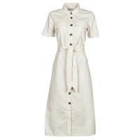 material Women Long Dresses Betty London ODRESS Ecru