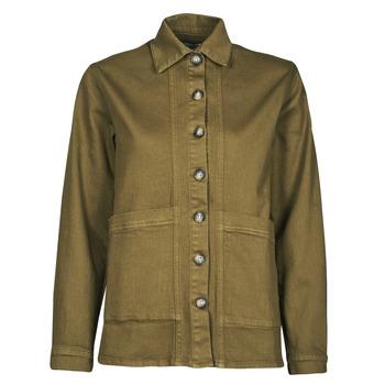 material Women Denim jackets Betty London OVEST Kaki