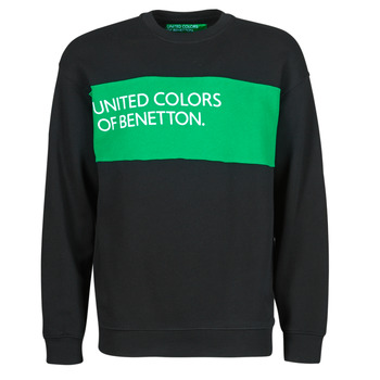 material Men sweaters Benetton 3J68J18G3-100 Black