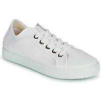 Shoes Women Low top trainers Dream in Green OBRINDILLE White