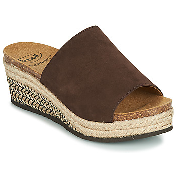 Shoes Women Mules Scholl MALAGA Brown