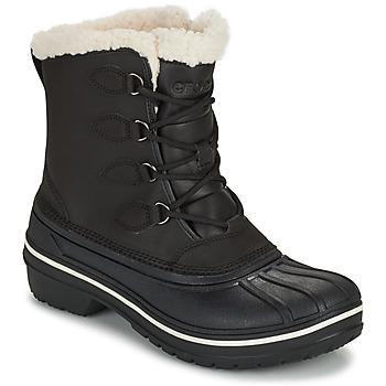 Shoes Women Mid boots Crocs ALL CAST II BOOT W Black