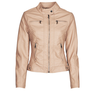 material Women Leather jackets / Imitation le Moony Mood PUIR Pink