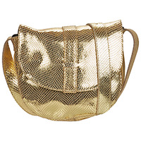 Bags Women Shoulder bags Pieces PCGABI Gold