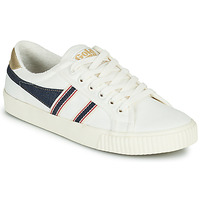 Shoes Women Low top trainers Gola TENNIS MARK COX SELVEDGE White / Blue