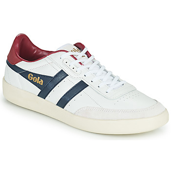 Shoes Men Low top trainers Gola INCA LEATHER White / Blue / Red