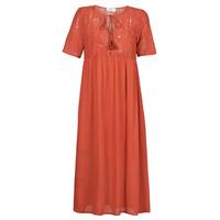 material Women Long Dresses Betty London ORVILLE Rust