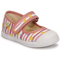 Shoes Girl Ballerinas Citrouille et Compagnie APSUT Pink / Printed
