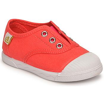 Shoes Girl Low top trainers Citrouille et Compagnie RIVIALELLE Watermelon