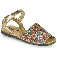 Shoes Girl Sandals Citrouille et Compagnie SQUOUBEL Multicoloured