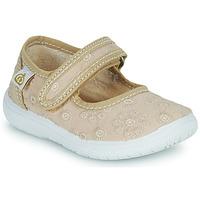 Shoes Girl Ballerinas Citrouille et Compagnie OSAPA Beige