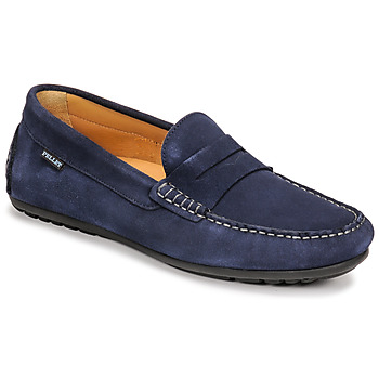 Shoes Men Loafers Christian Pellet Cador Blue