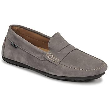 Shoes Men Loafers Pellet Cador Grey