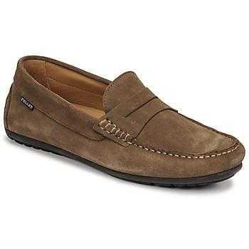 Shoes Men Loafers Pellet Cador Taupe