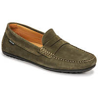 Shoes Men Loafers Pellet Cador Kaki