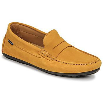 Shoes Men Loafers Pellet Cador Yellow
