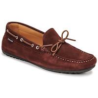 Shoes Men Loafers Pellet Nere Bordeaux