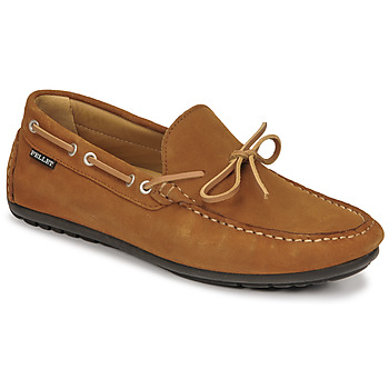 Shoes Men Loafers Christian Pellet Nere Brown