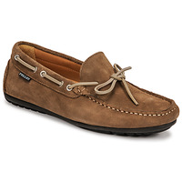 Shoes Men Loafers Christian Pellet Nere Taupe