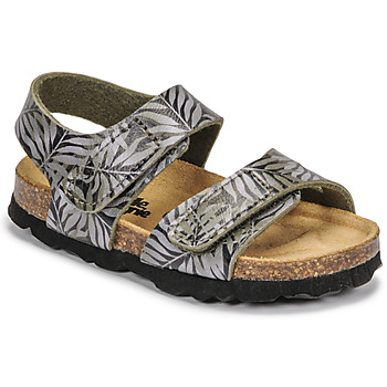 Shoes Children Sandals Citrouille et Compagnie BELLI JOE Printed / Leaf